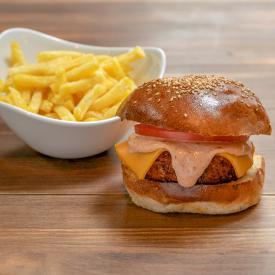 Hamburguesa Veggie Chipotle