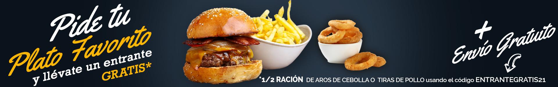 Banner Promocional Home Burger Bar